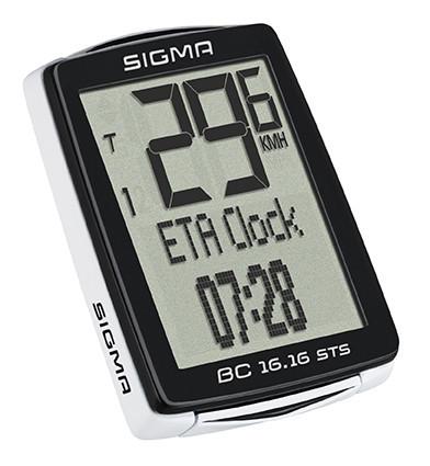 Sigma BC 16.16 STS CAD kilométeróra