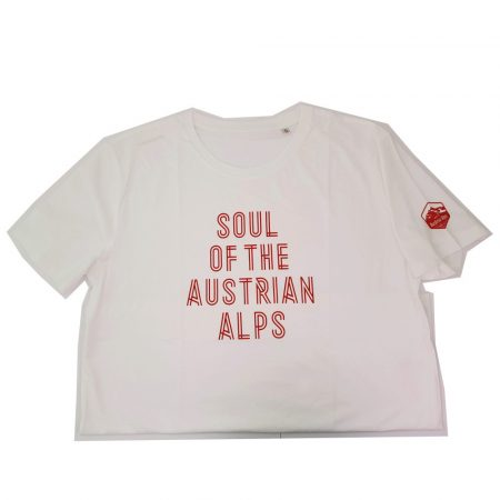Nakita Soul of the Austrian Alps kerékpáros póló fehér-piros XL