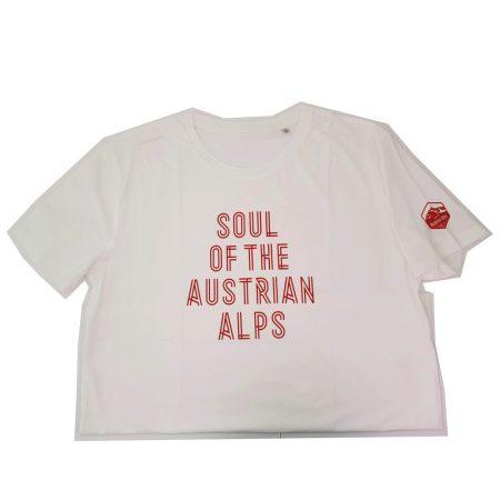 Nakita Soul of the Austrian Alps kerékpáros póló fehér-piros XXXL