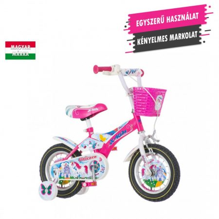 KPC Unicorn 12 unikornisos gyerek kerékpár