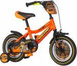 KPC Motocross 12 motoros gyerek kerékpár Narancs