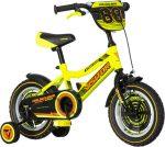 KPC Ranger 12 sárga-fekete gyerek kerékpár
