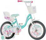 KPC Snow Kitty 16 cicás gyerek kerékpár HAJMERESZTŐ ÁRON
