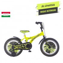 KPC Player 16 focis neonsárga gyerek kerékpár