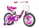 KPC Liloo 16 pillangós gyerek kerékpár