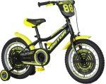 KPC Ranger 16 fekete-sárga gyerek kerékpár