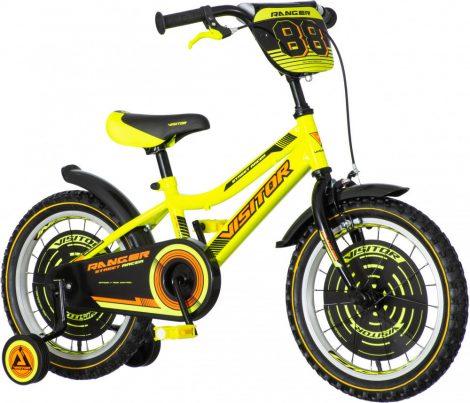 KPC Ranger 16 sárga-fekete gyerek kerékpár