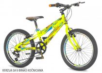 Visitor Fox 20 gyerek kerékpár HAJMERESZTŐ ÁRON Zöld