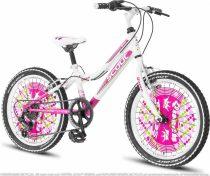 Scout Queen 20 gyerek kerékpár HAJMERESZTŐ ÁRON Fehér
