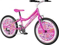 Visitor Queen 20 gyerek kerékpár HAJMERESZTŐ ÁRON Rózsaszín