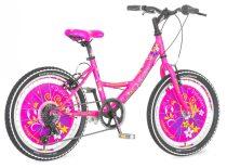 Visitor Anastasia 20 gyerek kerékpár HAJMERESZTŐ ÁRON Rózsaszín