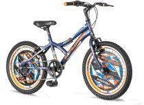 Explorer Robix 20 sötétkék gyerek kerékpár HAJMERESZTŐ ÁRON