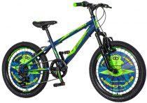 Explorer Rhino 20 gyerek kerékpár robotos kék