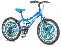 Explorer Robix 20 gyerek kerékpár HAJMERESZTŐ ÁRON Kék