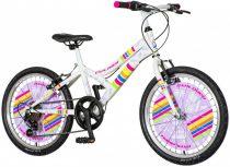 Explorer Daisy 20 gyerek kerékpár HAJMERESZTŐ ÁRON Rózsaszín