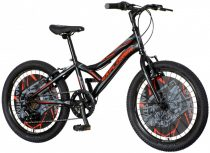 Explorer Robix 20 fekete gyerek kerékpár HAJMERESZTŐ ÁRON