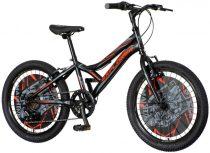 Explorer Robix 20 gyerek kerékpár HAJMERESZTŐ ÁRON Fekete