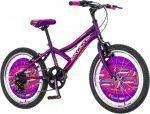 Explorer Daisy 20 gyerek kerékpár Lila
