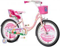 KPC Princess 20 királylányos gyerek kerékpár HAJMERESZTŐ ÁRON