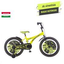 KPC Player 20 focis neonsárga gyerek kerékpár