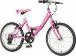 Venssini Rimini 20 rózsaszín gyerek kerékpár