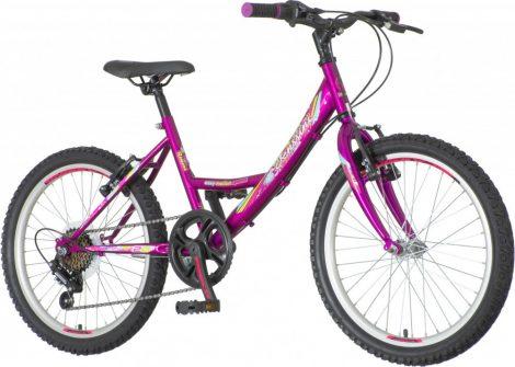 Venssini Rimini 20 sötétlila gyerek kerékpár