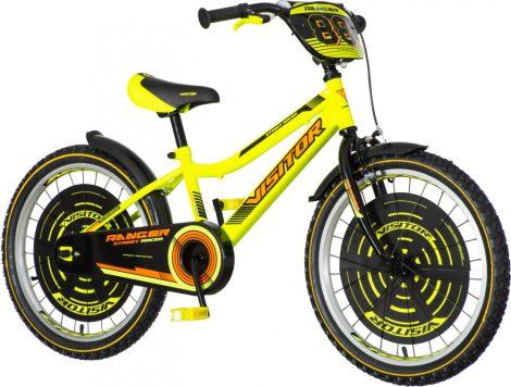 KPC Ranger 20 sárga gyerek kerékpár