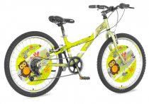 Visitor Strix 24 gyerek kerékpár HAJMERESZTŐ ÁRON Zöld
