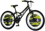 Explorer Legion 24 gyerek kerékpár Fekete