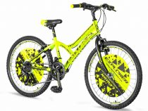 Explorer Legion 24 gyerek kerékpár HAJMERESZTŐ ÁRON Zöld