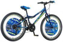 Explorer Magnito 24 gyerek kerékpár HAJMERESZTŐ ÁRON Kék