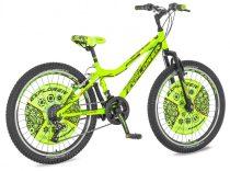 Explorer Magnito 24 tárcsafékes gyerek kerékpár HAJMERESZTŐ ÁRON Zöld