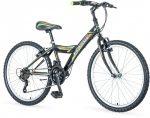 Venssini Parma 24 gyerek kerékpár  Fekete