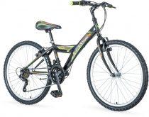 Venssini Parma 24 fekete gyerek kerékpár HAJMERESZTŐ ÁRON