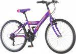 Venssini Parma 24 gyerek kerékpár 18'  Lila