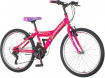 Venssini Parma 24 gyerek kerékpár '18 HAJMERESZTŐ ÁRON Rózsaszín