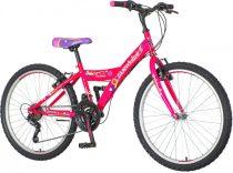 Venssini Parma 24 lila gyerek kerékpár HAJMERESZTŐ ÁRON