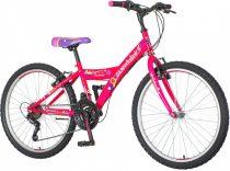 Venssini Parma 24 gyerek kerékpár HAJMERESZTŐ ÁRON Lila