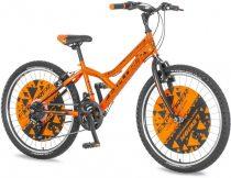 Explorer Legion 24 gyerek kerékpár HAJMERESZTŐ ÁRON Narancs