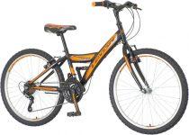 Venssini Parma 24 gyerek kerékpár '18 HAJMERESZTŐ ÁRON Fekete-Narancs