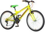 Venssini Parma 24 gyerek kerékpár Citromsárga