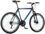 Explorer Elite Man Disc 26 MTB kerékpár Fekete-Kék
