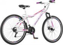 Explorer Tea női tárcsafékes 26 MTB kerékpár Fehér