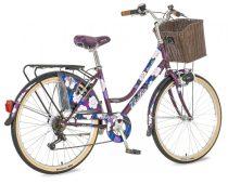 Visitor Misty városi kerékpár LEGJOBB AJÁNLAT Lila