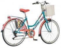 Visitor Gabriella városi kerékpár LEGJOBB AJÁNLAT Kék