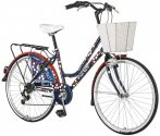 Visitor Polka városi kerékpár  Kék