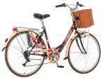 Visitor Pipacs városi kerékpár  Barna
