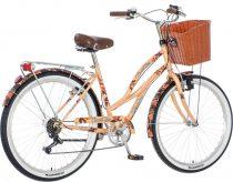 Visitor Cosmic Love virágos női cruiser kerékpár LEGJOBB AJÁNLAT krém
