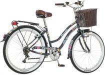 Visitor Deepwater virágos női kontrás cruiser kerékpár grafit