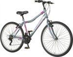 Venssini Modena 26 MTB gyerek kerékpár Ezüst